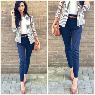 Attractive Business Work Outfits Ideas For Women 201901