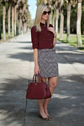 Attractive Business Work Outfits Ideas For Women 201934