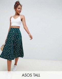 Delicate Polka Dot Maxi Skirt Ideas For Reunion37