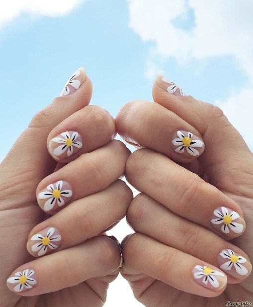 Gorgeous Nail Designs Ideas In Summer For Women06