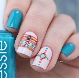 Gorgeous Nail Designs Ideas In Summer For Women11
