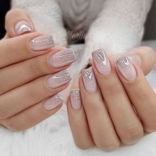 Inspiring Nail Art Ideas For Wedding Party21