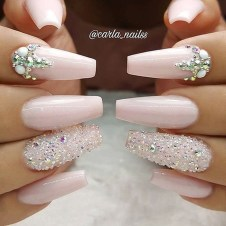 Inspiring Nail Art Ideas For Wedding Party24