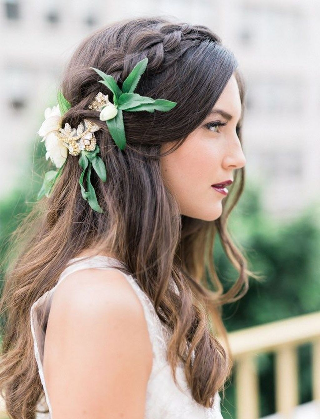 Rustic Hairstyle Ideas For Wedding04