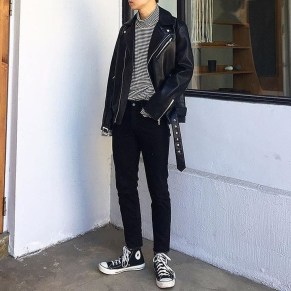 Flawless Men Black Jeans Ideas For Fall28