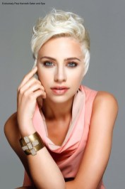 Newest Blonde Short Hair Styles Ideas For Females 201902