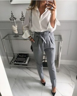 Unique Office Outfits Ideas For Career Women20