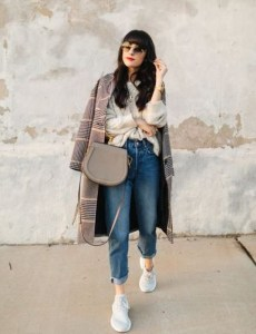 Attractive Sneakers Outfit Ideas For Fall And Winter30