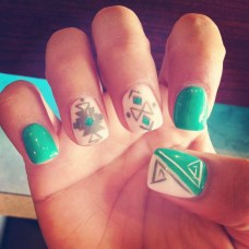 Cozy Aztec Nail Art Designs Ideas You Will Love To Copy09