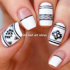 Cozy Aztec Nail Art Designs Ideas You Will Love To Copy39