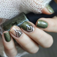 Cozy Aztec Nail Art Designs Ideas You Will Love To Copy40