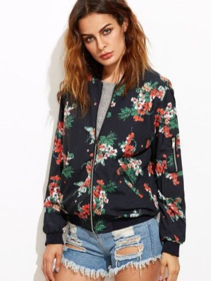 Cozy Combinations Ideas With Floral Blazers You Must Try40