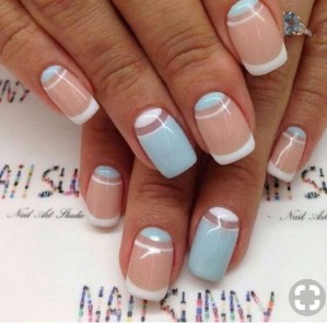 Creative Half Moon Nail Art Designs Ideas To Try02