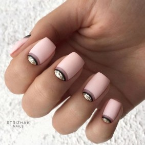 Creative Half Moon Nail Art Designs Ideas To Try10