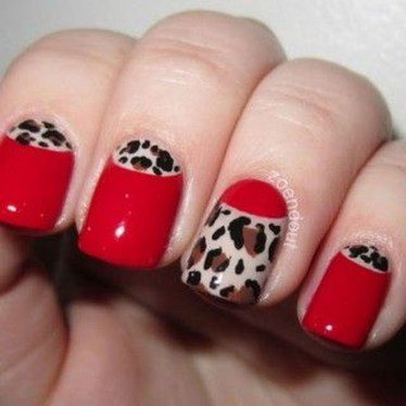 Creative Half Moon Nail Art Designs Ideas To Try24