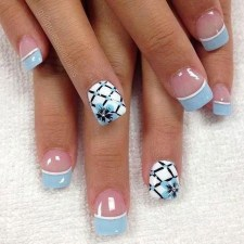 Cute French Manicure Designs Ideas To Try This Season07