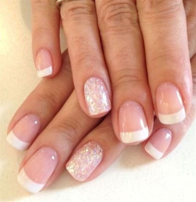 Cute French Manicure Designs Ideas To Try This Season35