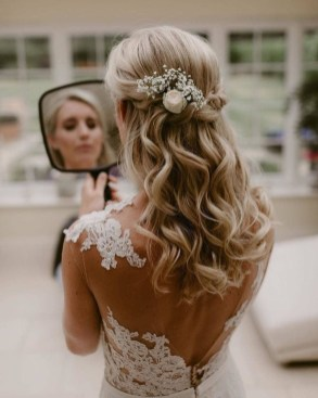 Elegant Wedding Hairstyle Ideas For Brides To Try26