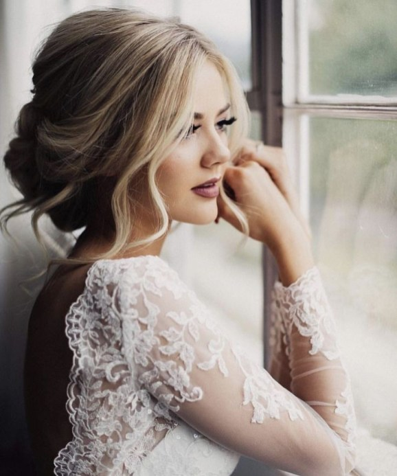 Elegant Wedding Hairstyle Ideas For Brides To Try38