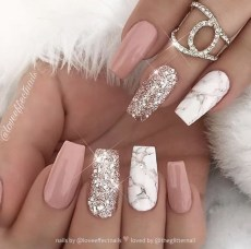 Fashionable Pink And White Nails Designs Ideas You Wish To Try19