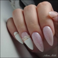 Fashionable Pink And White Nails Designs Ideas You Wish To Try28