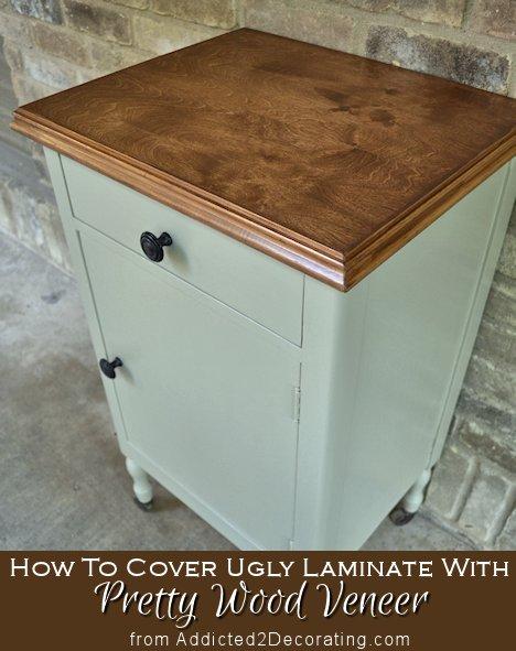 Laminate With Pretty Wood Veneer