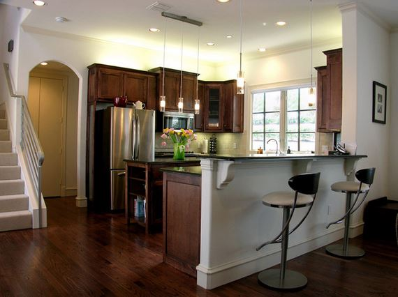 Kitchen Breakfast Bar Countertop Height Or Awesome Design