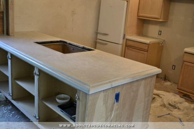 Diy Concrete Countertops Finishing