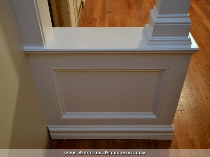 Where Should The Wainscoting Go