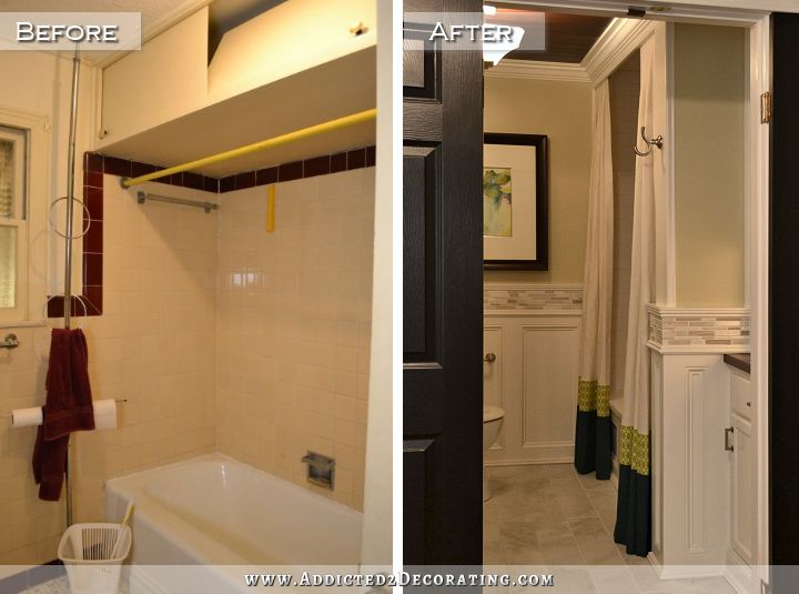 Hallway Bathroom Remodel Before Amp After Addicted 2