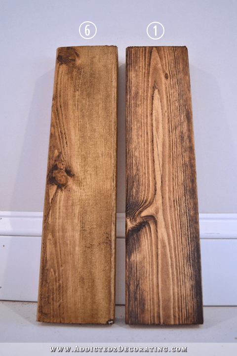 How Ot Stain Pine A Medium Brown Color With Minimal Grain 3