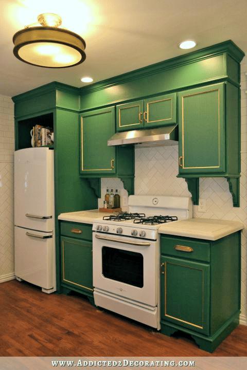 White Kitchen Hardwood Floors