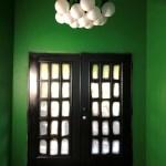 New Entry Light Fixture Flooring Option And Half Bathroom Wall Inspiration Addicted 2 Decorating