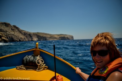 Rejs do Blue Grotto