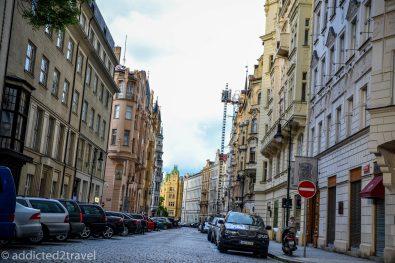 jedna z uliczek dzielnicy żydowskiej