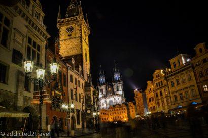 Stare Miasto nocą