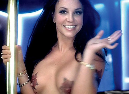 Britney Spears topless-1