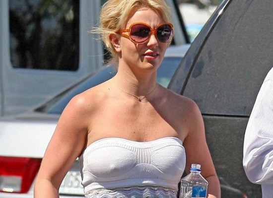 Britney Spears nipples