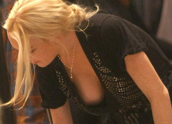 Spending superfluous Lindsay lohan boob pop