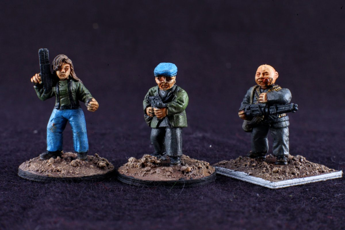 GZG 25mm Partisans/resistance fighters