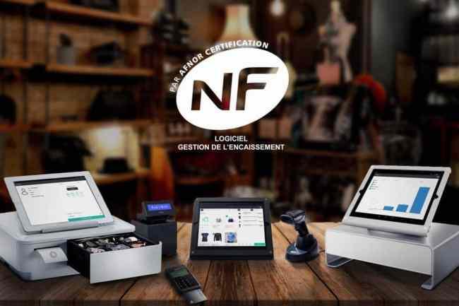 caisse enregistreuse norme NF525