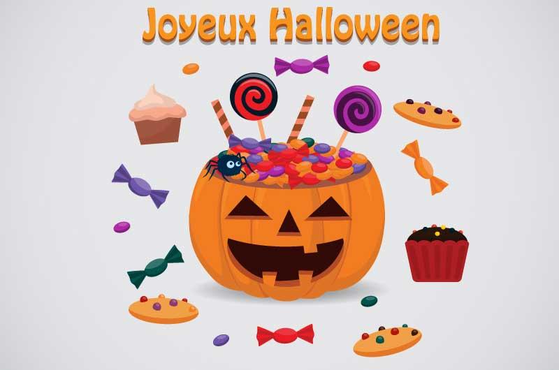 Halloween pour commerçant