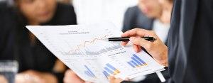 commerçant service d'un expert comptable