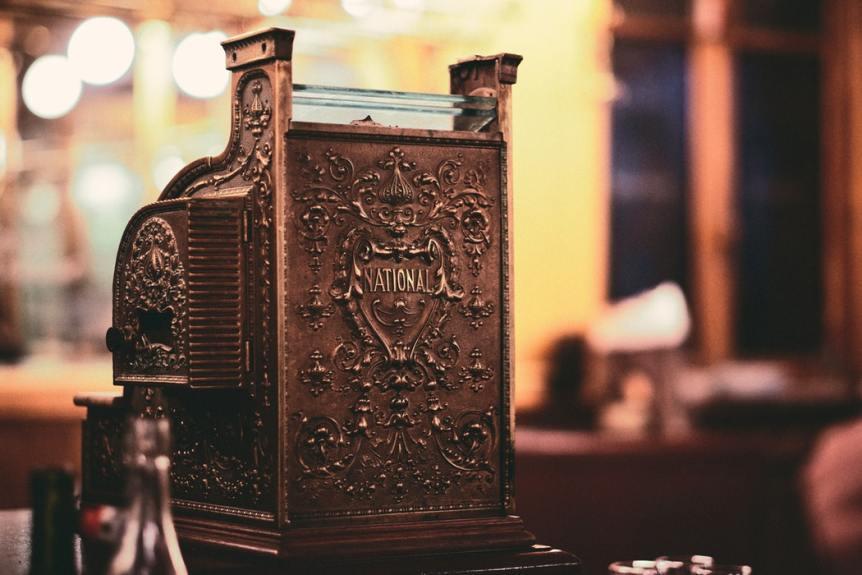 casio caisse enregistreuse vintage