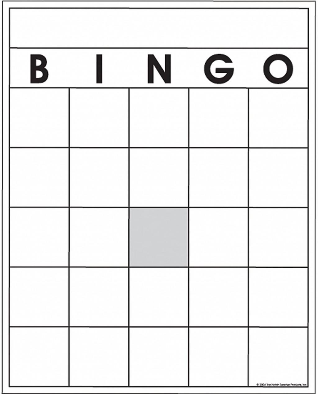 Blank Bingo Card Template Addictionary