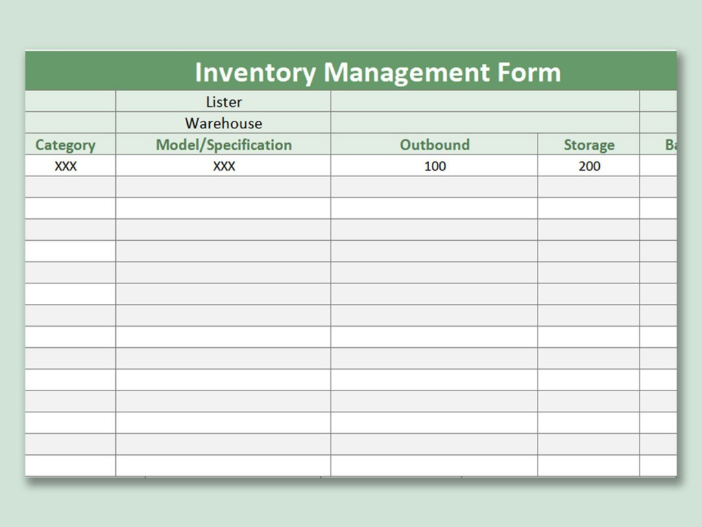 Inventory Sign Out Sheet Template Addictionary