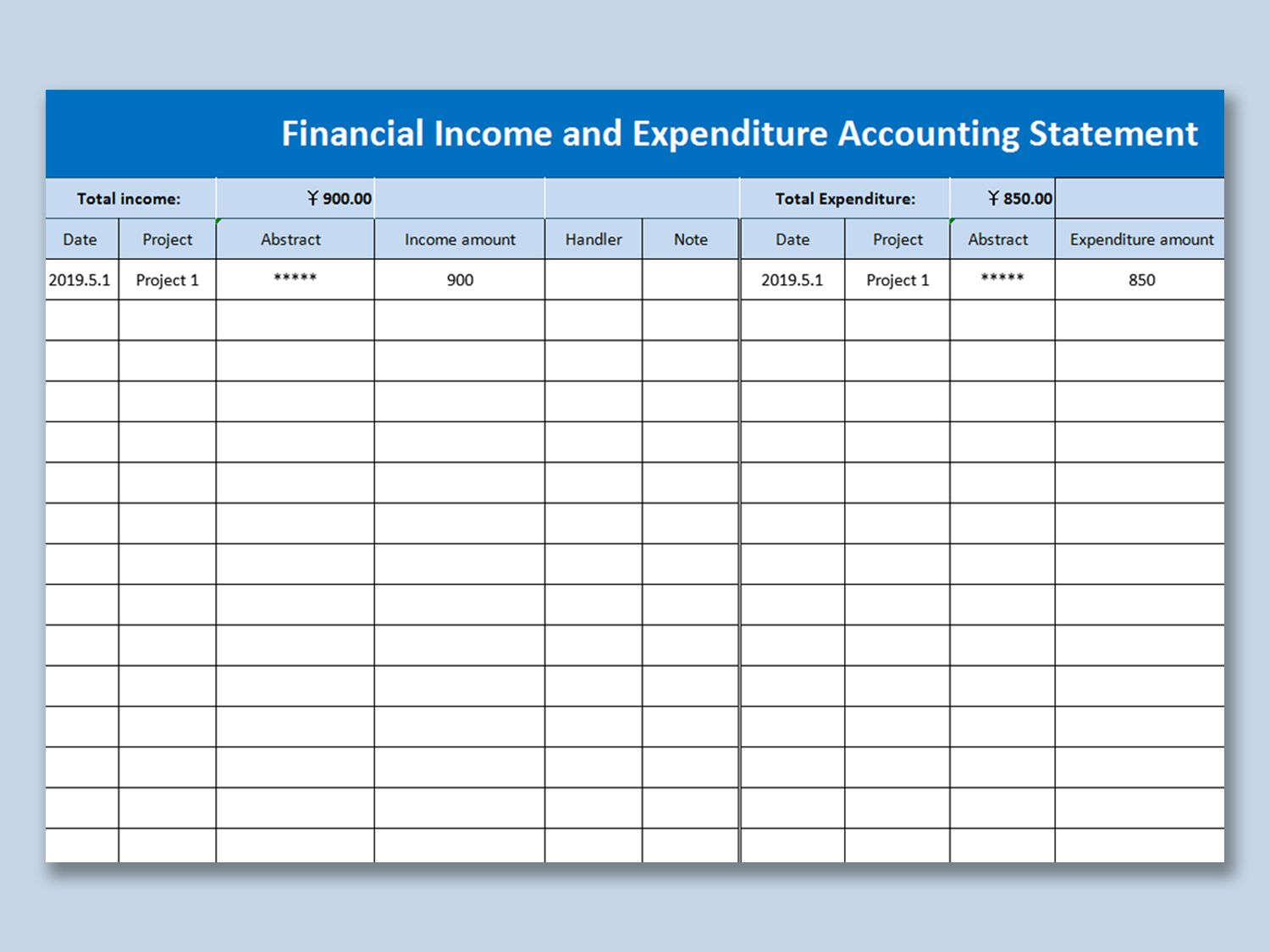 Microsoft Excel Accounting Template Download Addictionary