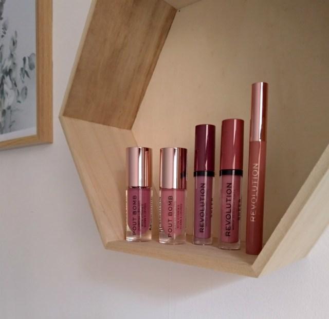 Makeup revolution nouveautés lèvres