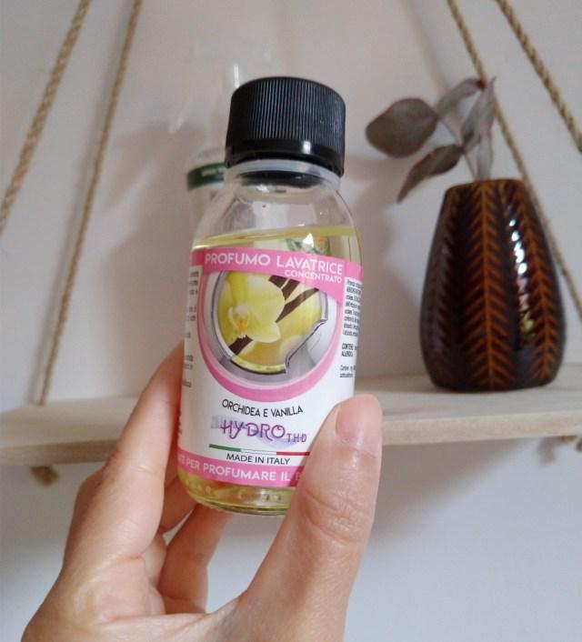 Parfum lessive orchidée vanille THD