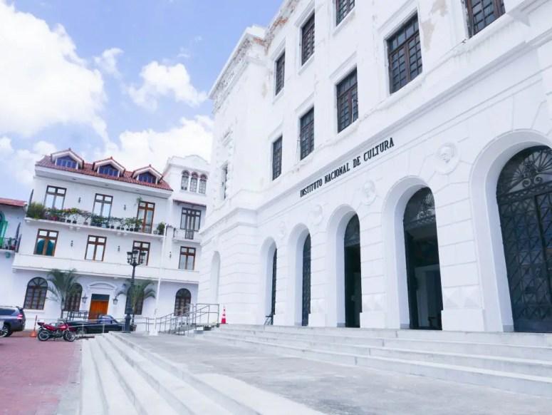 Instituto Nacional de Cultura Casco Viejo Panama City